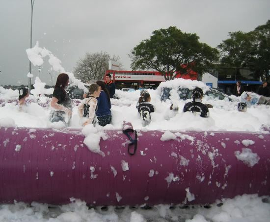 Foam in Inflatable