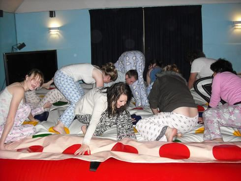 Twister Pajama Party
